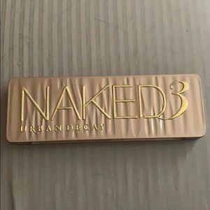 Naked 3 Pallette - hardly used